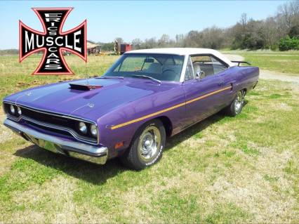 1970 Plymouth Road Runner NUMBERS BROADCAST SHEET