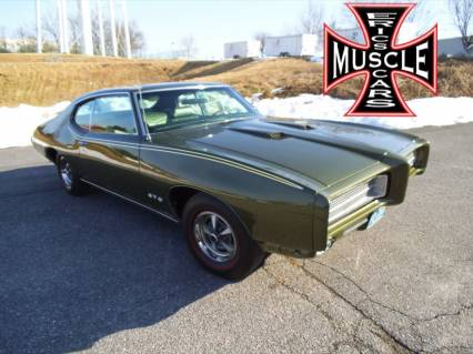 1969 GTO MATCHNG NUMBERS FRAME OFF RESTO