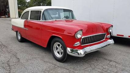 1955 CHEVY BELAIR BIG BLOCK 4 SPEED