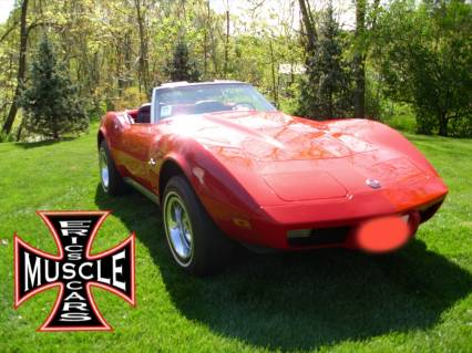 1975 Corvette Roadster 4 SPEED