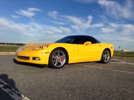 2005 CORVETTE MILLENNIUM YELLOW SOLD SOLD SOLD