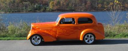 1936 CHEVY STREET ROD REDUCED !