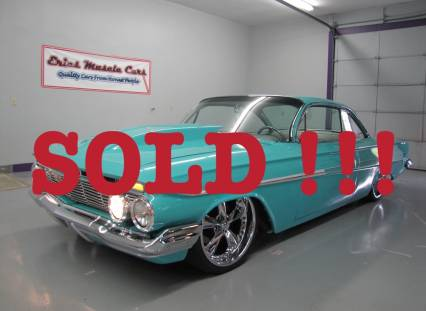 1961 Custom Chevy Belair BAGGED SOLD SOLD SOLD