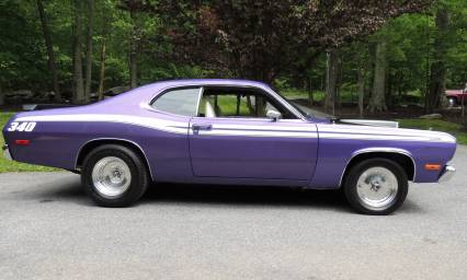 1972 PLYMOUTH DUSTER 4 Speed SOLD SOLD SOLD