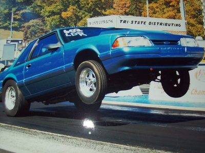 1990 Ford Mustang Radial Stock Suspension