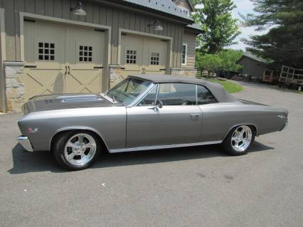 1967 Chevelle SS Convertible PRO TOURING POWER SEE VIDEO