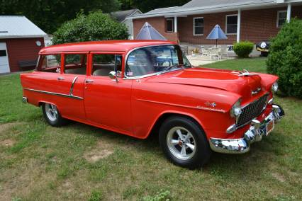 1955 Chevy Wagon BEAUTIFUL RESTO SOLD SOLD SOLD