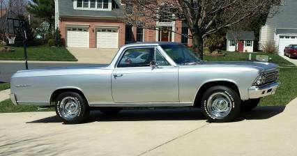 1966 El Camino w COLD AIR SOLD SOLD SOLD