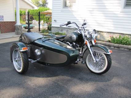 1996 HD Heritage Softail with SIDE CAR