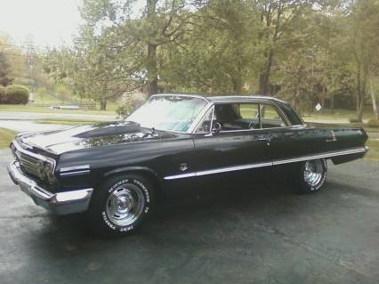 1963 Chevy Impala SS Black on Black 4 SPEED