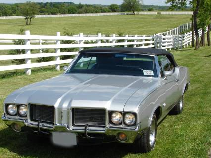 1972 Olds Cutlass Convertibl COLD AIR SOLD SOLD SOLD