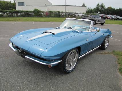 1966 CORVETTE RESTOMOD LS3 5 SPEED SEE VIDEO