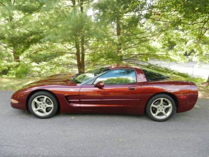 2003 Corvette 50th Anniversary LOW LOW MILES