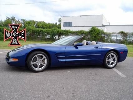 2004 CORVETTE CONVERTIBLE LOW MILES
