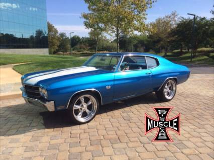 1970 Chevelle SS RESTO MOD 454 with COLD AIR