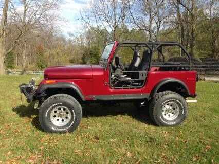 1977 JEEP CJ7 350 SMALL BLOCK SOLD SOLD SOLD