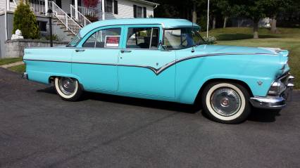 1955 FORD TOWN SEDAN SURVIVOR SOLD SOLD SOLD