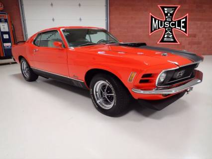 1970 Ford Mustang Mach 1 428 4 SPEED !!!