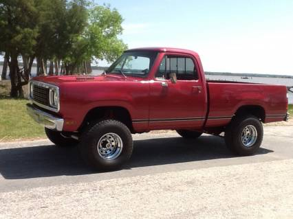 1975 DODGE POWER WAGON SOLD SOLD SOLD