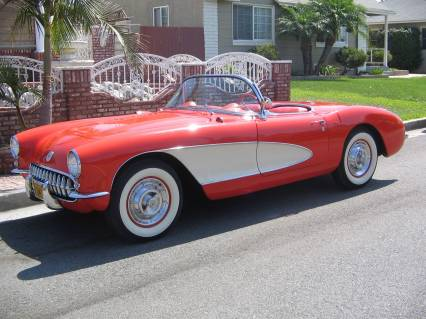 1956 Corvette Roadster SOLD SOLD SOLD