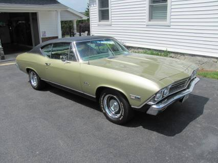 1968 Chevelle with COLD AIR SOLD SOLD SOLD